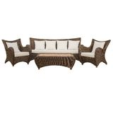 Garden furniture set. On a white Royalty Free Stock Image