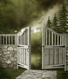Garden gate 1 Royalty Free Stock Photos