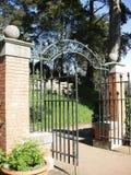 Garden Gate. In Golden Gate Park stock image
