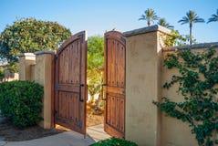 The Garden Gate Stock Photography