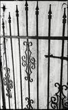 Garden Gate Stock Images