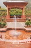 Garden gazebo Stock Photography