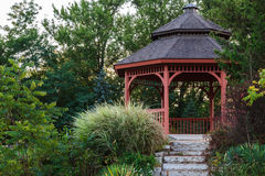 Garden gazebo Royalty Free Stock Image