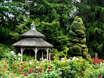 Garden Gazebo Stock Photography
