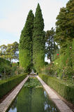 Garden of the Generalife Stock Photos