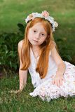 Garden Girl Royalty Free Stock Images