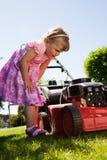 Garden girl Stock Image