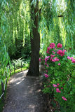 Garden at Giverny, France Royalty Free Stock Photo