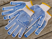 Garden gloves Stock Photography