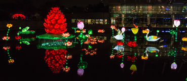 Garden Glow Dubai, UAE Royalty Free Stock Image