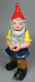 Garden gnome. With red kap Royalty Free Stock Images