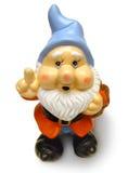 Garden Gnome. On a white background stock photos