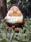 Garden Gnome. In the garden Stock Photos