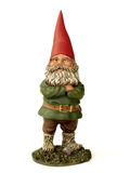 Garden Gnome. Vintage garden statue royalty free stock photo