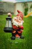 Garden gnome elf Stock Photos