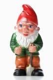 Garden Gnome holding spade Royalty Free Stock Photo