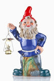 Garden gnome isolated Royalty Free Stock Photography