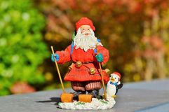 Garden Gnome, Lawn Ornament, Christmas, Toy Stock Image
