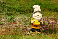 Garden gnome Stock Images