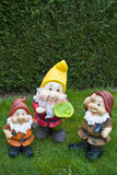 Garden gnomes Royalty Free Stock Image
