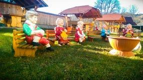 Garden gnomes Royalty Free Stock Photography