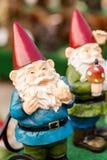 Garden gnomes. Small garden gnomes for private garden royalty free stock photo