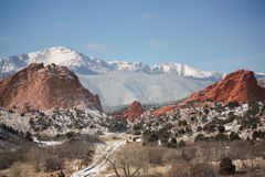 Garden of the Gods Royalty Free Stock Photos