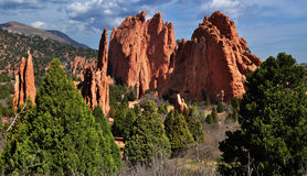Garden of the Gods Stock Image