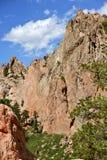 Garden of the Gods. Colorado Springs, Colorado, USA. Popular Colorado Destination. Rocky Mountains Royalty Free Stock Images