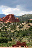Garden of the Gods Stock Photo