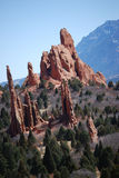 Garden of the Gods. Travel in Colorado - Manitou Springs -Garden of the Gods.  April 2008 Royalty Free Stock Photos