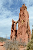 Garden Of The Gods Cathedral Spires Stock Images