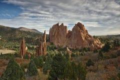 Garden of the Gods, Colorado stock photo