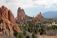 Garden of the Gods, Colorado Royalty Free Stock Image