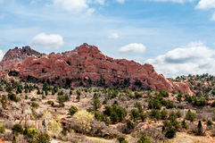 Garden of the Gods Colorado Rock Formations Royalty Free Stock Photo