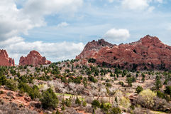 Garden of the Gods Colorado Rock Formations Royalty Free Stock Images