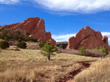 Garden of the Gods Royalty Free Stock Photo