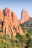 Colorado Springs nature. Garden of the Gods in Colorado Springs. National Natural Landmark Royalty Free Stock Photos