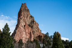 Garden of the gods colorado springs royalty free stock photography