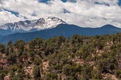 Garden of the gods colorado springs rocky mountains. Garden of the gods in colorado springs - travel vacation in the rocky mountains royalty free stock photos