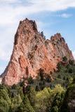 Garden of the gods colorado springs rocky mountains stock photography