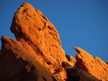 Garden of the Gods Formation Royalty Free Stock Photo