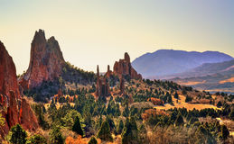 Garden of the Gods HDR stock photography