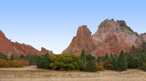 Garden of the Gods Park Stock Image