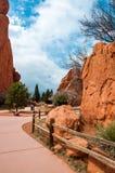 Garden of the gods park, colorado springs, colorado Stock Photography