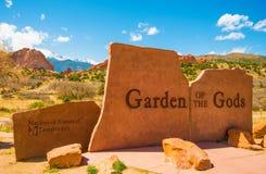 Garden of the Gods Park Stock Image