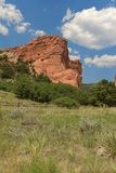 Garden of the Gods Park stock photo