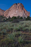 Garden of the Gods Rock Formation Stock Images