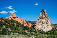 Garden of the Gods Rock Formation - Colorado Stock Photos