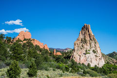 Garden of the Gods Rock Formation - Colorado Royalty Free Stock Photography